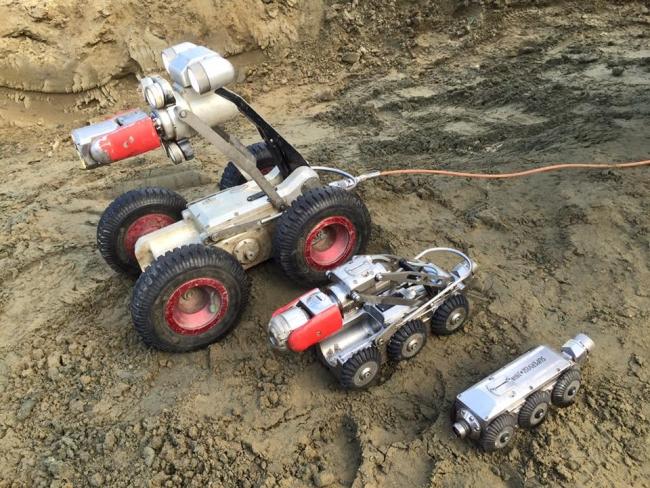 Robotcrawlers Pipe Vision